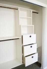 diy closet organizer ideas attractive on bedroom with regard to diy kit for under 50 hometalk