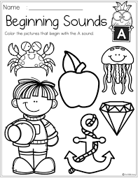 This free kindergarten english worksheet can be used three ways. Astonishing Preschool Worksheets Letters Beginning Sounds Image Inspirations Samsfriedchickenanddonuts
