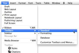 microsoft word menus how to create custom toolbars for microsoft word 2011 macworld