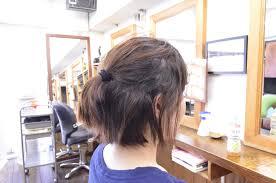 縮毛矯正の髪型でショートにするにはあえて真っ直ぐしない事が大切