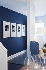 5 Affordable Ideas : How to Decorate a Rental House / Apartment. Navy Blue  WallsNavy ...