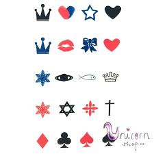 Nalepovací Tetování Symboly