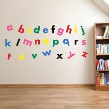 a to z alphabet wall stickers kids