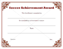 Free Award Certificate Templates For Students Award Certificate Template Word Free Templates For Students Sports