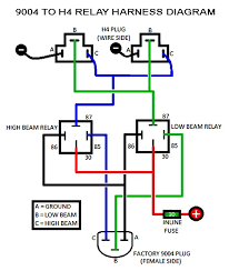 9004 to h4 relay harness diagram how to my final product