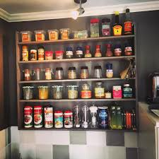 Kitchen Spice Rack Spice Rack Ideas For The Kitchen And Pantry Buungicom