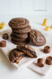 just 4 ings to make these yummy rolo cookies we love this caramel treat using