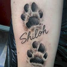 Creative Tattoos Paw Print Tattoo Ideas Most Beautiful Tattoos