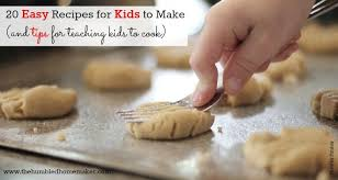 easy recipes for kids to make. Perfect Easy Cookies Are An Example Of Some Great Easy Recipes For Your Kids To Start  Learning How Inside Easy Recipes For Kids To Make Y