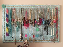 How To: Fabric-Covered Corkboard Jewelry Organizer