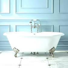 vintage bathtub for corner galvanized bathroom sinks cast iron antique tub skirte