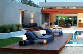 Ground Pool Deck Furniture Ideas Patio Furniture Decorating