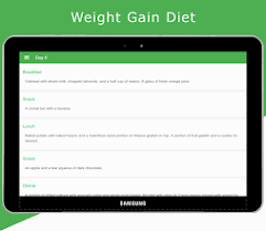 Image result for weight gain diet app