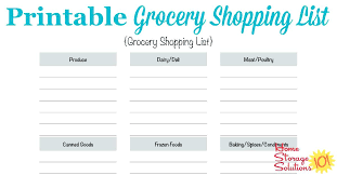 basic grocery shopping list free shopping list template editable grocery weekly basic lccorp co