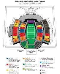 Milan Puskar Stadium Seating Chart West Virginia
