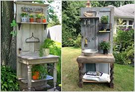 make your own potting bench if you have a green thumb 6