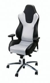 recaro black white office chairs