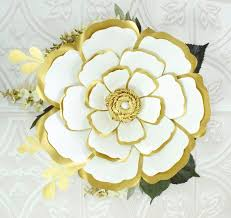 Large Paper Flower Pattern Large Paper Flowers Giant Paper Flower Patterns Tutorials Diy