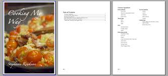 Openoffice Recipe Card Template
