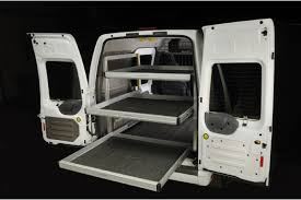 ford transit connect shelving decoration image ideas