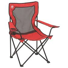 com coleman oversized quad chair with cooler pouch sports outdoors