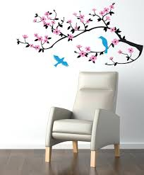 cherry blossoms wall decal wall decal cherry blossom branch wall decal  sticker zoom wall decals . cherry blossoms wall decal ...