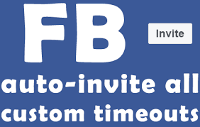 Facebook In Home - Invite All Fb Fans