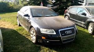 2006 Audi A6 4.2 Quattro Junk Yard Walk around - YouTube
