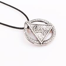 factory offer new high quality yugi muto millennium puzzle eye triangle cosplay horus egyptian sun talisman necklace pendant leather chain