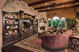 tuscan decorating ideas for living rooms crystal chandelier in high ceiling looking traditional mlinaric henry classic