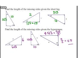 Geometry G also  likewise Special Right Triangles  solutions  ex les  videos also special right triangles multi step key p1   YouTube besides  additionally Obj  SWBAT identify Special Right Triangles and  G   ppt video further Trigonometry Prerequisite  Special Right Triangles      Chegg further Math Plane   Means  Extremes and Right Triangles  Altitude to moreover Pythagorean Theorem Worksheets additionally  besides . on special right triangles worksheet answers