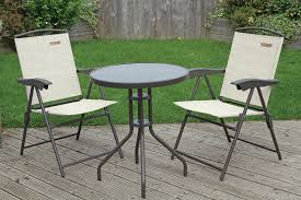 warwickshire 2 person chair table bistro set 2 only left