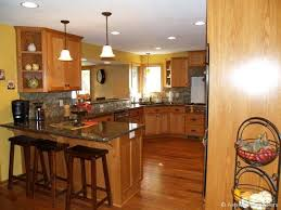 Small Picture Custom oak kitchen cabinets w paint colorbacksplash cooridinates