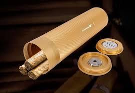 <b>COHIBA MINI</b> Gadgets Golden&Black&Silver Travel Aluminium Alloy ...