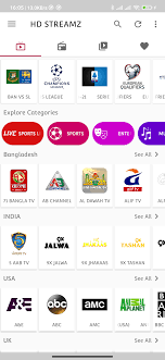 HD STREAMZ : Live stream, sports, Movies, TV Show, Radio online