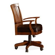 leather antique wood office chair leather antique. Exellent Office Impressive Wood Leather Desk Chair Office Pertaining To Prepare 8 And Antique I