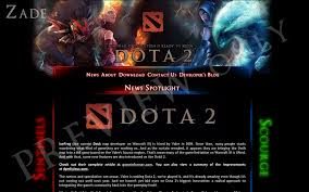 dota 2 website by zadelim on deviantart