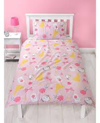 disney princess belle royal single duvet cover bedding set