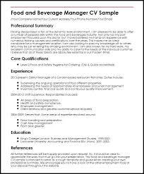 Modern Resume For Restaurant Dietary Server Sample Resume Podarki Co