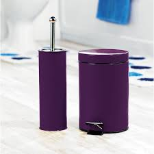 Complete Your Bathroom with Sweet Purple Bath Accessories | HomesFeed