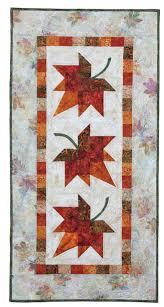thanksgiving quilt patterns | Autumn Leaves: Eleanor Signature ... & thanksgiving quilt patterns | Autumn Leaves: Eleanor Signature Quilt Pattern  - Quilt in a Day Adamdwight.com