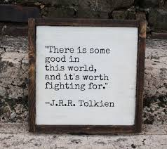 Wooden Signs With Quotes 4 Amazing JRR Tolkien Quote 24x24 Painted Wood Sign Optional Frame