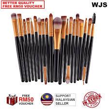 halal brush wjs halal 20 pcs 20pcs mini make up brush travel set makeup