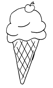 waffle cone coloring page. Delighful Page Banana Split Coloring Page Printable New Ice Cream Cone Sheet For  Prepare 17 Of And Waffle W