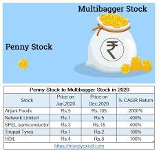 penny stock to multibagger stock in