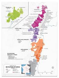 Wine Folly Chart France Bourgogne Wine Map In 2019 Burgundy Wine Map Wine