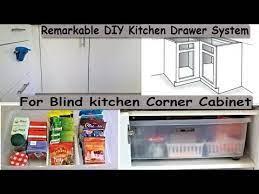 Kitchen Organizing Remarkable Diy Kitchen Drawer System For Blind Kitchen Corner Cabinet Youtube