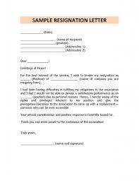 Resignation Letter Format Doc Due To Health Problem - Letter Idea 2018
