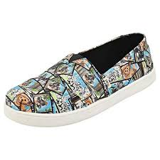 Tiny Toms Size Chart Inches Toms Star Wars Ewok Print Youth Canvas Slip On Multi Color 10014513