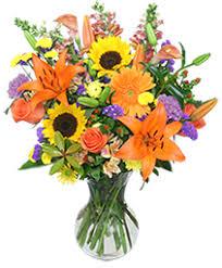 harvest rhapsody fresh flower vase